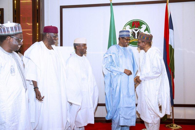 Xmas Homage: Buhari Receives Fct Community, Says 2019 Very Successful