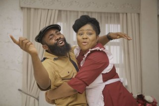 The Enemy I know' features comedian, Woli Arole, who plays the role of Ebiye Instagram Rita Daniels
