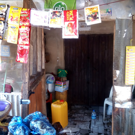 The 'home' of the Ogbonnas, doubles as shop