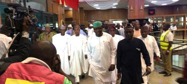 All APC governors storm National Assembly ahead of inauguration