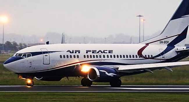 Nigerian South Africa Nigeria Federal Government Air Peace