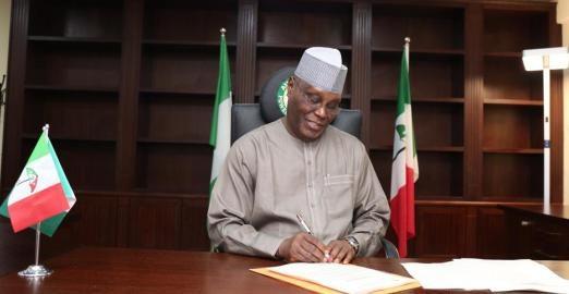 Atiku Abubakar [PHOTO CREDIT: PDP official facebook account]