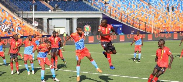 AFCON 2019: Uganda DR Congo [Photo: @CAF_Online]