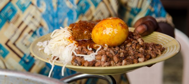 food served at a Buka used to illustrate the story