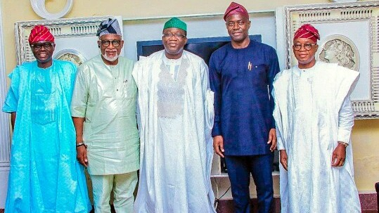 South West Governors at the Security Summit (Photo Credit: Seyi Makinde on LinkedIn)