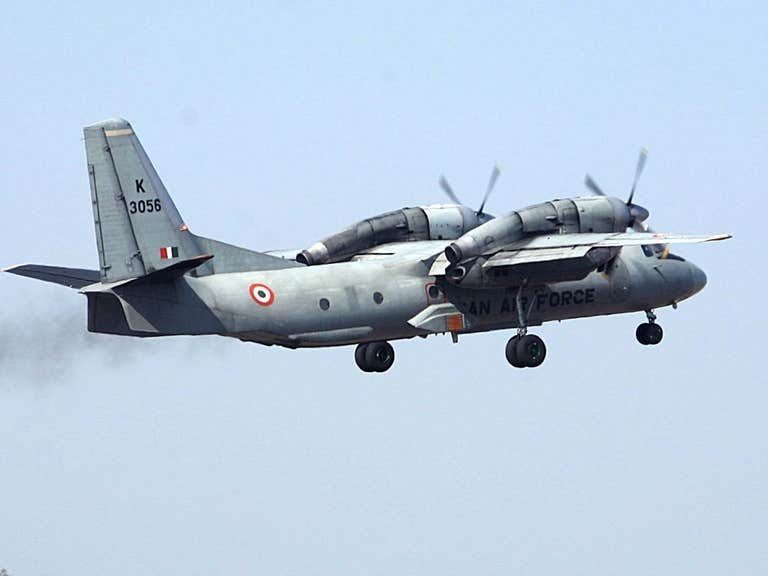 An Indian air force AN-32 aircraft takes off (file photo) ( REUTERS )
