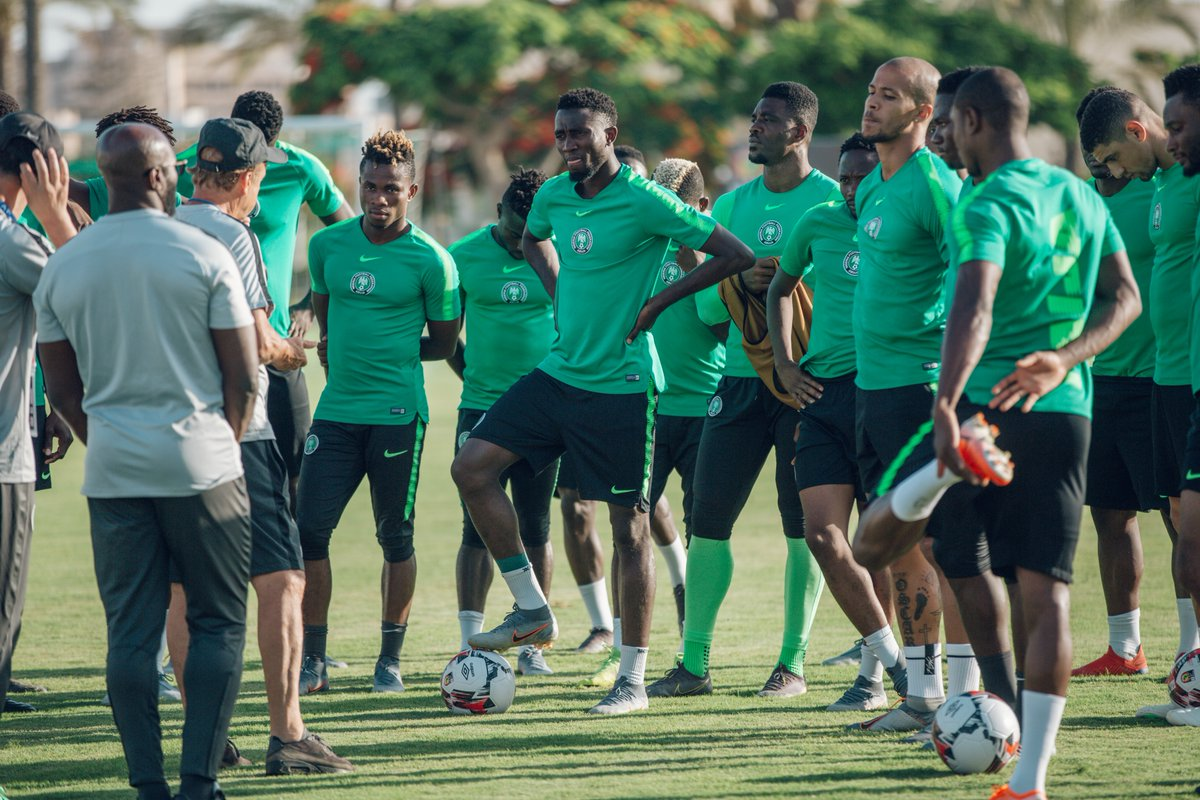 JUST IN: Super Eagles AFCON camp hit by protest!