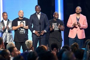 The Exonerated Five at the BET (Source: BET)