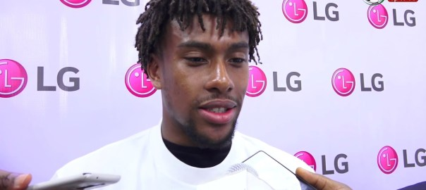 FILE PHOTO: Alex Iwobi Reveals Super Eagles Game Plan At Russia 2018 World Cup- The Interview [PHOTO: YouTube]