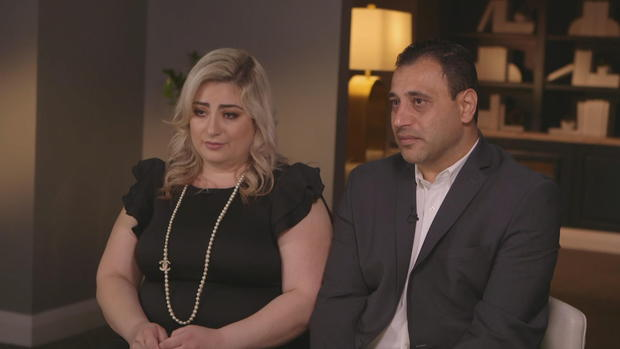 Anni and Ashot Manukyan (Photo Credit CBS News)