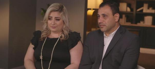 Anni and Ashot Manukyan (Photo Credit CBS News)