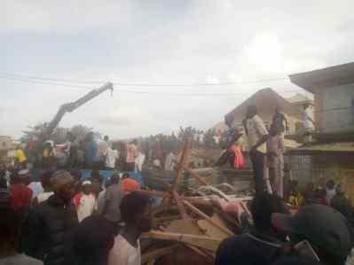 Jos building collapse