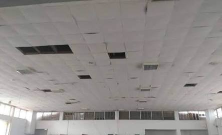 Ceiling of the Ondo House of Assembly chamber