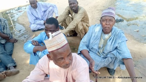 Displaced men in Jiddari polo host community