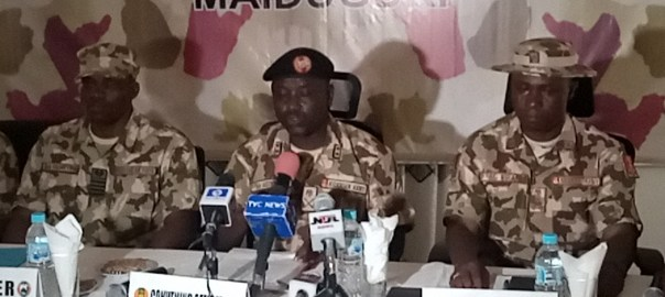 Military inaugurates court-martial to prosecute erring soldiers in Maiduguri