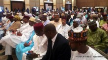 Cross section of participants at the second Lake Chad Basin Governors Forum holding in Niamey.