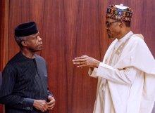 President Muhammadu Buhari and Vice President Yemi Osinbajo