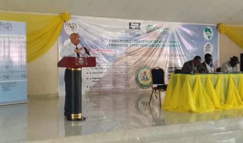 8th Annual Scientific Conference and General Meeting of the Epidemiological Society of Nigeria (EPiSON2019)