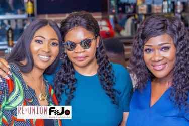 Lilian Esoro, Faith Ojo and Mercy Johnson