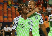 Match between Nigeria Vs South Africa