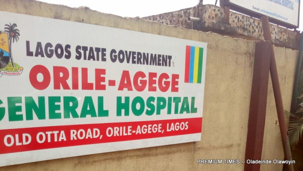 Orile-Agege General Hospital, Lagos