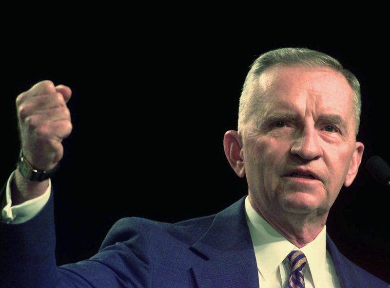 Ross Perot (Photo Credit: Los Angeles Times)