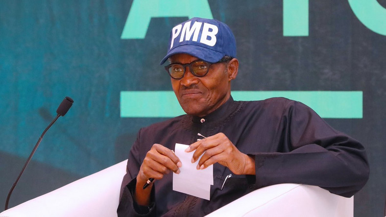 President Muhammadu Buhari [Photo: Twitter/@BashirAhmaad]
