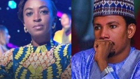 Nollywood actress Kate Henshaw and embattled senator Elisah Abbo