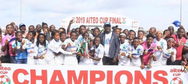 Nasarawa Amazons wins Aiteo Cup