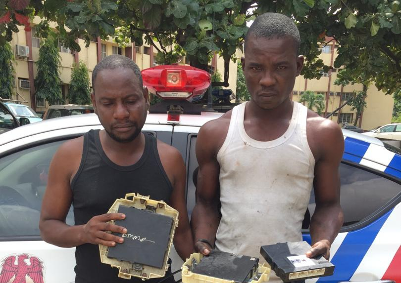 We steal vehicle brain box in four minutes – Arrested thief - Premium Times