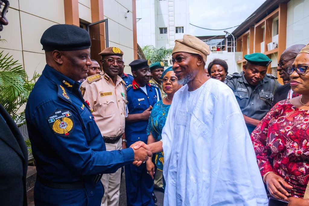 Aregbesola2 - Minister urges immigration officers to shun indolence, corruption
