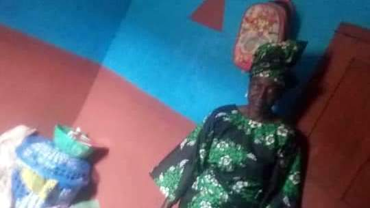 #RevolutionNow: Sariyu Akanmu, 70-year-old fufu seller, who was brutalised in Osogbo, Osun State.