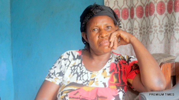 Grace Onuoha wants her son's killer to face justice. Photo by Patrick Egwu.