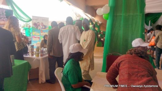A cross section of some of the participants at the event