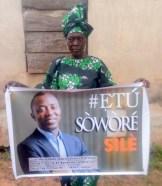 Sariyu Akanmu, 70-year-old fufu seller, who was brutalised in Osogbo, Osun State.