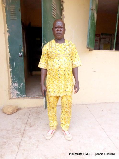 Headmaster LEA Primary school, Kadarko - Mr Poyi D.Wuyep