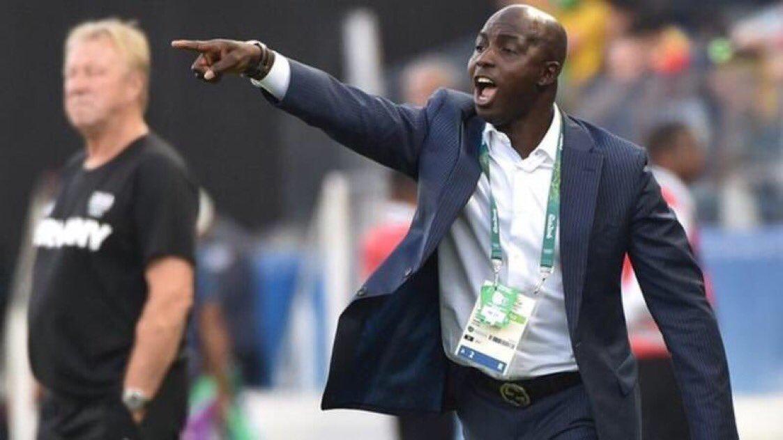 Siasia speaks on FIFA ban
