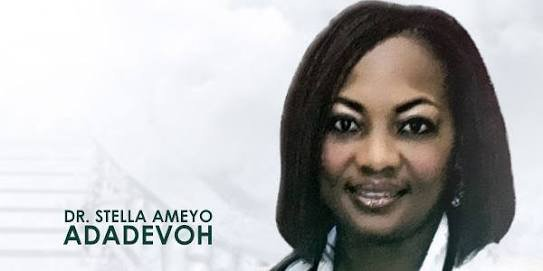 Late Stella Ameyo Adadevoh. [PHOTO CREDIT: Twitter]
