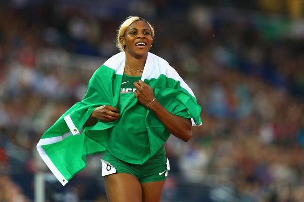 Image result for 2019 ALL AFRICA GAMES BLESSING OKAGBARE BEGINS QUEST FOR SPRINT TITLE