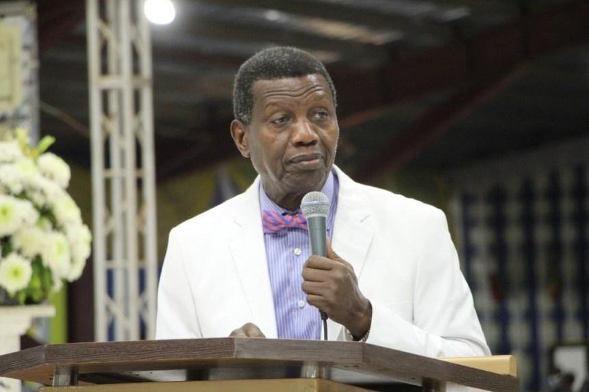 Pastor E.A Adeboye at the 2019 RCCG of Holy Ghost Congress (Photo Credit: Segun Komolafe)