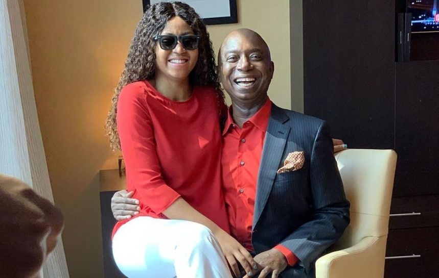 Regina Daniels with husband Ned Nwoko