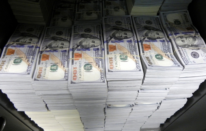 Seized Cash .... At one location during a September 10, 2014 takedown in Los Angeles targeting businesses that allegedly laundered money for Mexican drug cartels, FBI agents seized nearly $3 million in cash.... Photo Credit: FBI