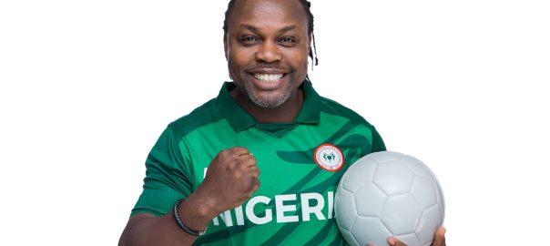 Nigerian football legend, Victor Ikpeba.