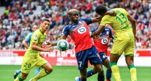 Victor Osimhen - Lille [Photo: Channels Tv]