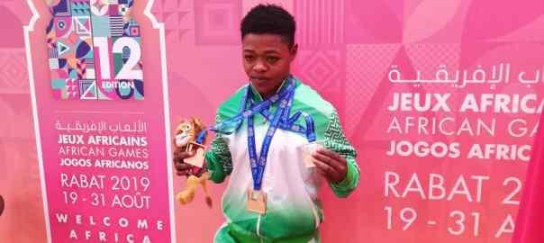Nigerian weightlifter, Folashade Rafiatu Lawal