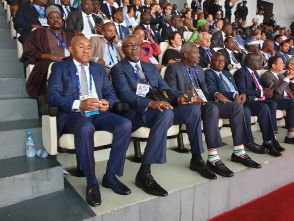 Dignitaries at the opening ceremony of 2019 African Games, Rabat 2019