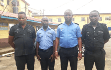 The dismissed officers, Fabiyi Omomayara, Olaniyi Solomon, Solomon Sunday and Aliyu Mukaila