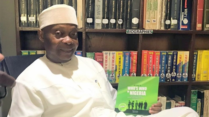 """Nyaknno Osso was the Librarian and later Editor of the celebrated """"Newswatch's Who Is Who In Nigeria."""