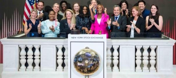 Dj Cuppy rung the opening bell at the Newyork Stock Exchange on Tuesday Photo Dj Cuppy