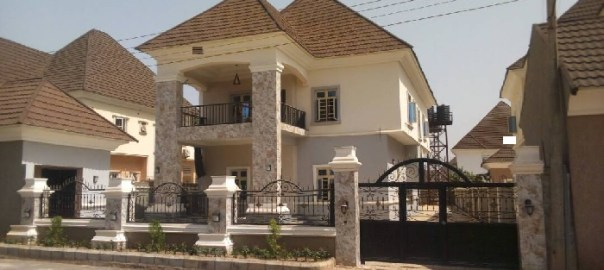 An unoccupied estate in Abuja used to illusttrate the story [Photo: Abuja.com]
